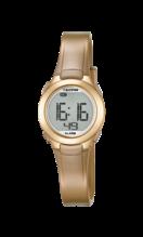 CALYPSO WOMEN'S GOLD RUBBER WATCH BRACELET K5677/3