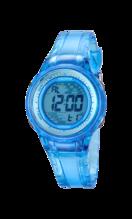 CALYPSO WOMEN'S BLUE RUBBER WATCH BRACELET K5688/1