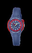 CALYPSO KIDS'S BLUE SWEET TIME RUBBER WATCH BRACELET K6069/5