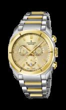 CANDINO MEN'S GOLDEN CHRONOS STAINLESS STEEL WATCH BRACELET C4583/1