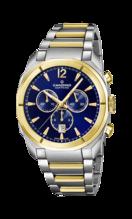 CANDINO MEN'S BLUE CHRONOS STAINLESS STEEL WATCH BRACELET C4583/5
