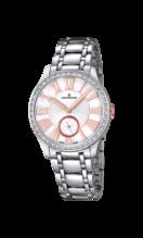 CANDINO WOMEN'S WHITE LADY CASUAL STAINLESS STEEL WATCH BRACELET C4595/1
