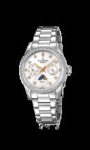 CANDINO WOMEN'S WHITE LADY CASUAL STAINLESS STEEL WATCH BRACELET C4686/1