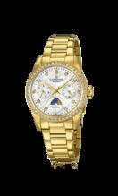 CANDINO WOMEN'S WHITE LADY CASUAL STAINLESS STEEL WATCH BRACELET C4689/1