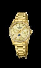 CANDINO WOMEN'S GOLDEN LADY CASUAL STAINLESS STEEL WATCH BRACELET C4689/2