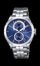 FESTINA MEN'S BLUE RETRO STAINLESS STEEL WATCH BRACELET F16632/2