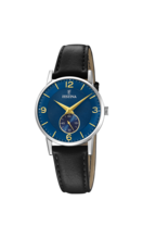 FESTINA WOMAN'S BLUE LEATHER WATCH BRACELETE F20570/3