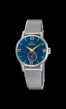 FESTINA WOMAN'S BLUE STEEL WATCH BRACELETE F20572/3