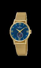 FESTINA WOMAN'S BLUE STEEL WATCH BRACELETE F20573/3