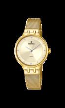 FESTINA WOMAN'S GOLDEN STEEL WATCH BRACELETE F20598/2