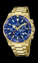 JAGUAR MEN'S BLUE EXECUTIVE STAINLESS STEEL WATCH BRACELET J864/2