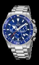 JAGUAR MEN'S BLUE EXECUTIVE STAINLESS STEEL WATCH BRACELET J872/1