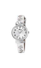 LOTUS KIDS'S SILVER JUNIOR COLLECTION LEATHER WATCH BRACELET 18627/1