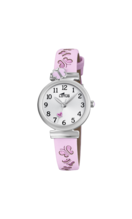 LOTUS KIDS'S SILVER JUNIOR COLLECTION LEATHER WATCH BRACELET 18627/2