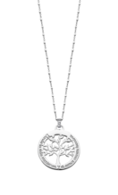 COLLIER LOTUS SILVER TREE OF LIFE LP1641-1/1 ARGENT, FEMME