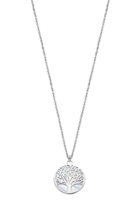 COLLIER LOTUS SILVER TREE OF LIFE LP1678-1/1 ARGENT, FEMME