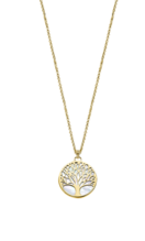 COLLIER LOTUS SILVER TREE OF LIFE LP1678-1/2 ARGENT, FEMME
