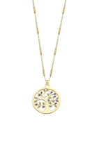 COLLIER LOTUS SILVER TREE OF LIFE LP1890-1/2 ARGENT, FEMME