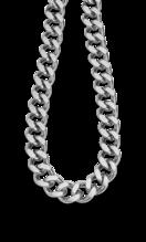 LOTUS STYLE MEN'S STAINLESS STEEL NECKLACE MEN IN BLACK LS2060-1/1
