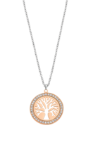 LOTUS STYLE DAMES STAAL COLLIER LS2181-1/3