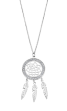 LOTUS STYLE WOMAN'S STEEL NECKLACE LS2184-1/1