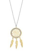 LOTUS STYLE WOMAN'S STEEL NECKLACE LS2184-1/2